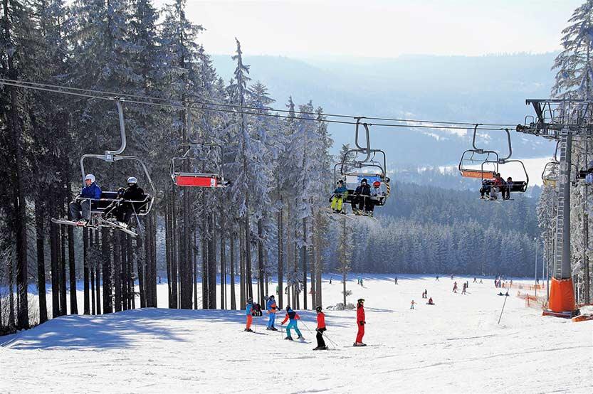 Skigebiet Böhmerwald