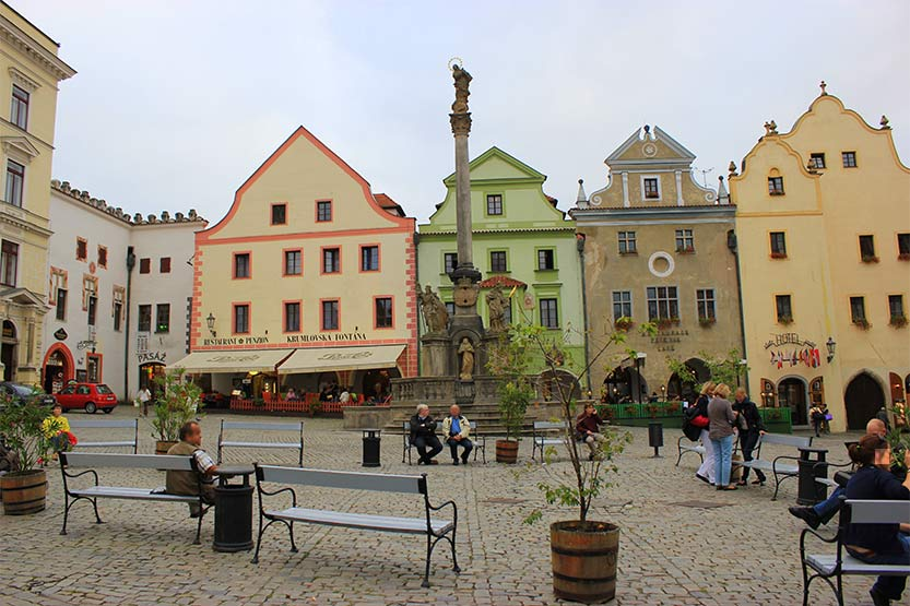 Cesky Krumlov: Altstadt