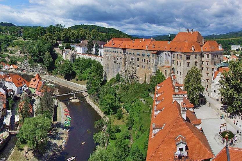 Schloss in Ĉeský Krumlov