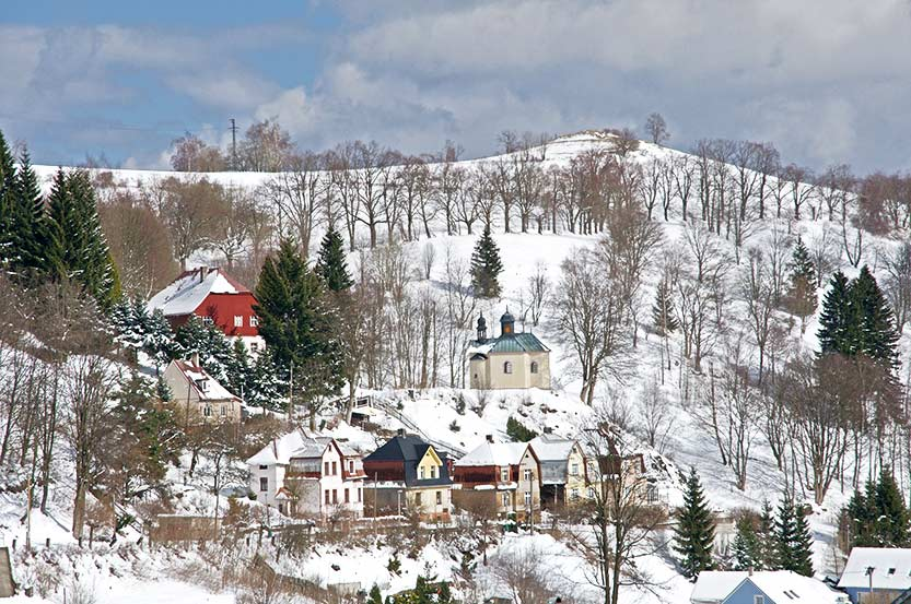 Das Städtchen Jachymov liegt in der Karlsbader Region im tschechischen Erzgebirge.
