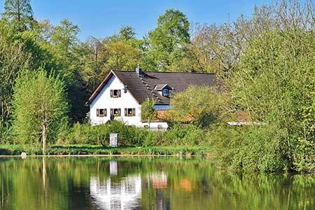 Ferienhaus Urlaub in Tschechien am See