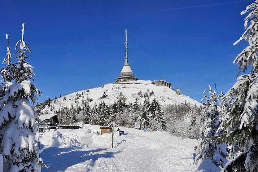 Berghotel in Liberec