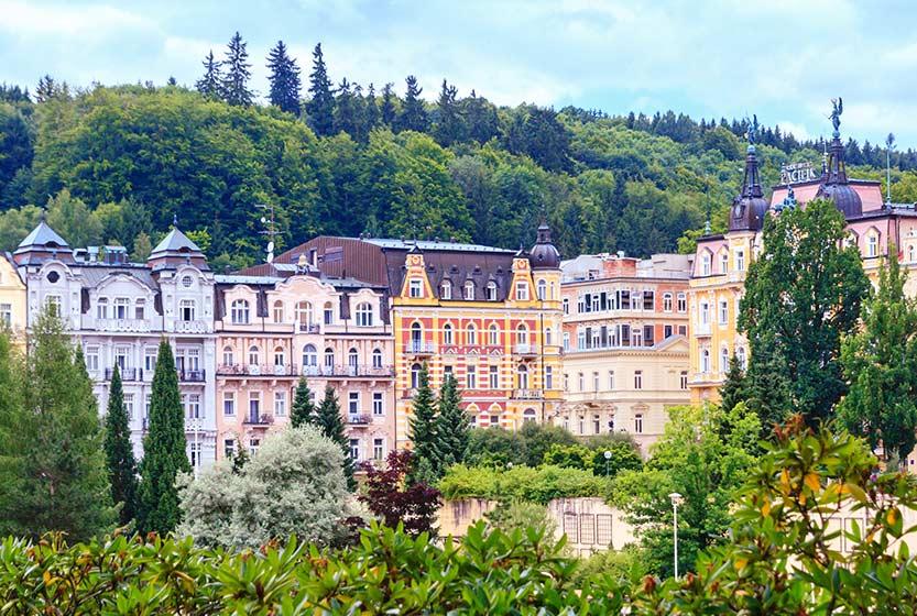 Ferienwohnung und Hotel für Urlaub in Marienbad