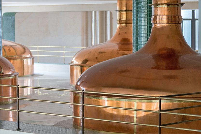 Brauerei in Pilsen