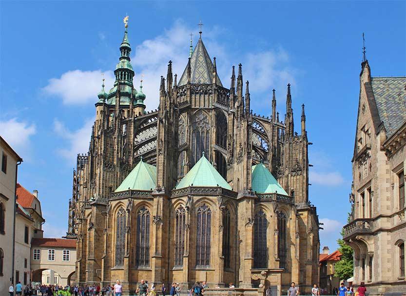 Der gotische Veitsdom