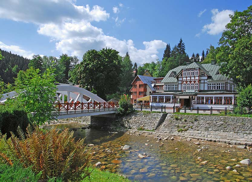 Urlaub in Spindlermühle - Ferienhaus