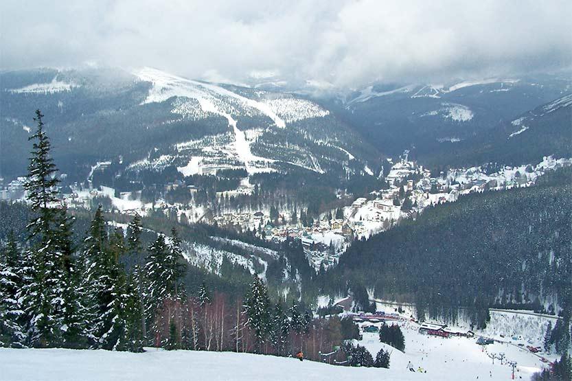 Das Skigebiet Spindlermühle