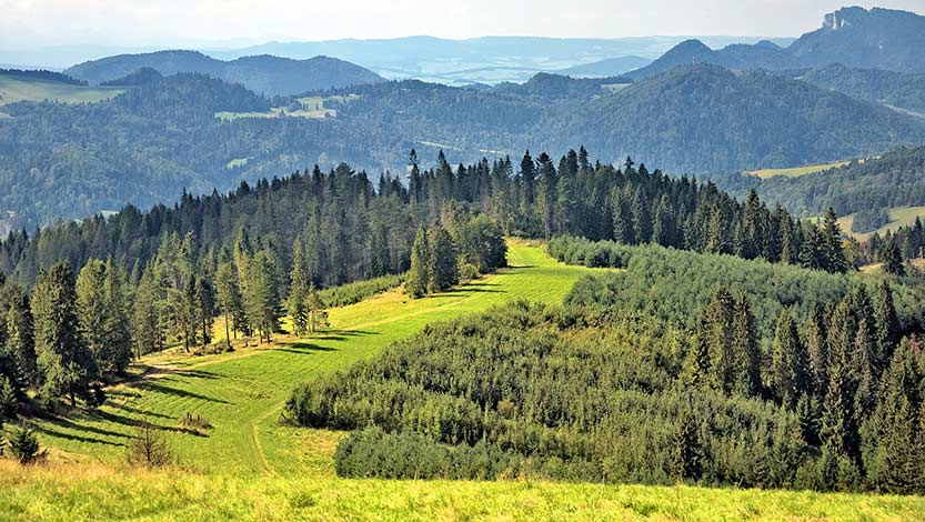 die Beskiden in Tschechien