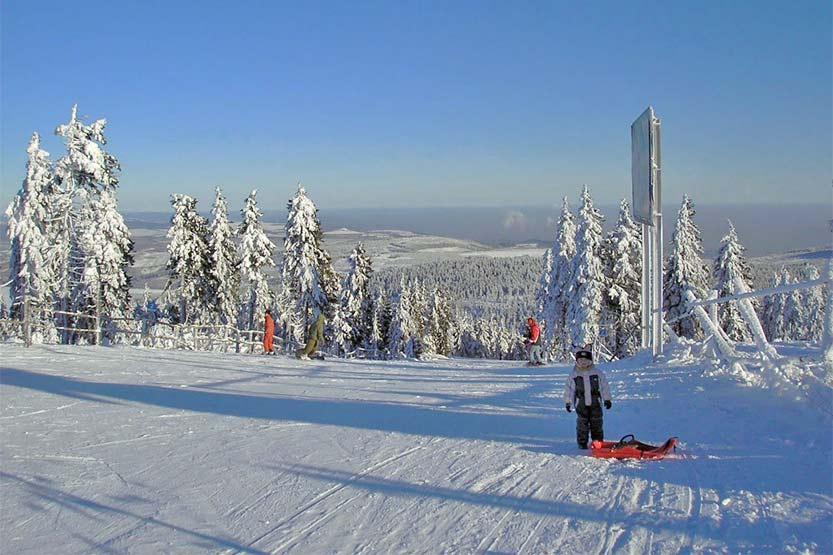 Skigebiet Klinovec