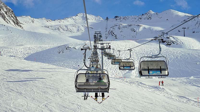 Skigebiet Čenkovice