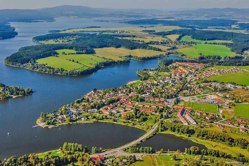 Tschechien Urlaub am See - Lipno