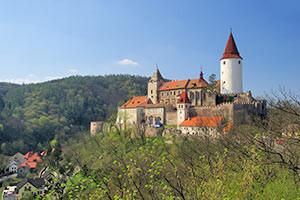 Schloss Krivoklat in Böhmen