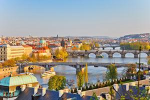 Ansicht von Prag